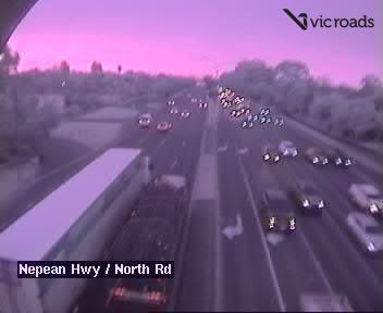 Nepean Hwy / North Rd, looking south