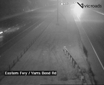 Eastern Fwy at Yarra Bend Rd
