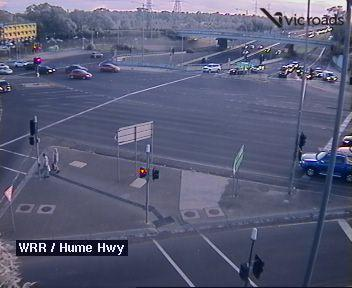Webcam at Western Ring Rd at Hume Hwy Broadmeadows