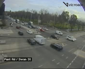 Punt Road (at Swan Street), VIC