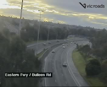 Eastern Fwy at Bulleen Rd