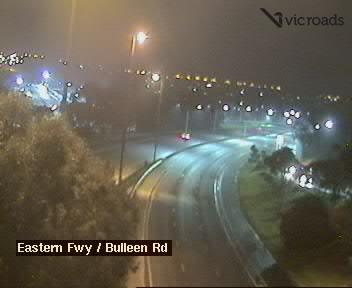 Webcam at Eastern Fwy at Bulleen Rd Balwyn North