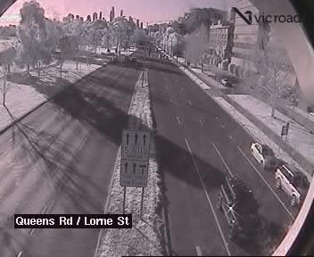Queens Road (at Lorne Street), VIC (Inbound), VIC