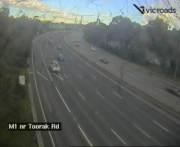 M1, Monash Freeway (at Toorak Road), VIC