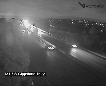 M1, Monash Freeway (at South Gipps. Highway), VIC