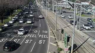Webcam at Flemington Rd at Church St Flemington