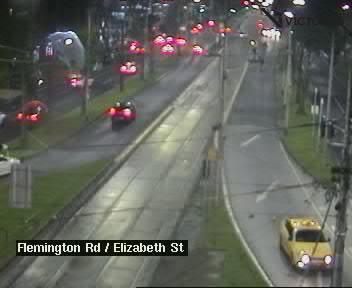 Flemington Rd at Elizabeth St
