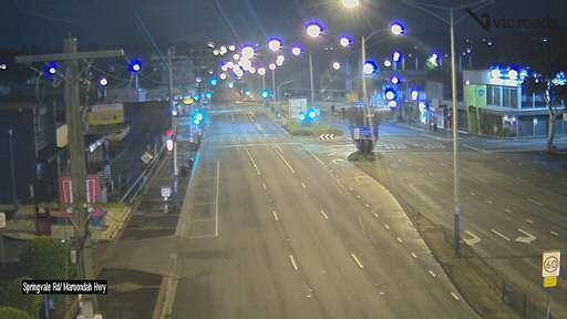 Webcam at Springvale Rd at Maroondah Hwy Nunawading