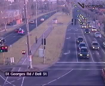 Webcam at St Georges Rd at Bell St Preston