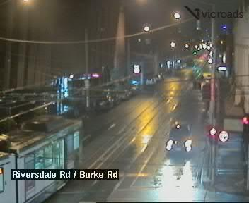 Webcam at Riversdale Rd at Burke Rd Camberwell