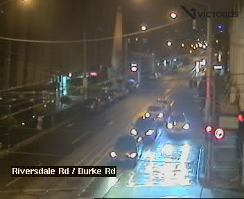 Riversdale Rd at Burke Rd