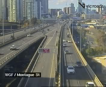 West Gate Freeway (at Montague Street), VIC