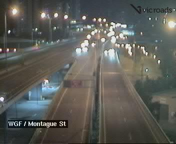 West Gate Freeway (at Montague Street)