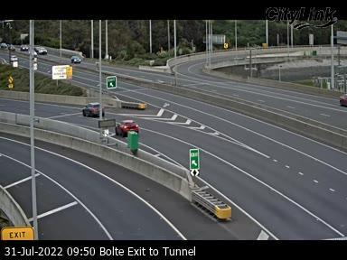Bolte Exit to Tunnel, VIC (East), VIC